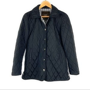 Coach Quilted Lightweight Puffer Jacket Snap Front